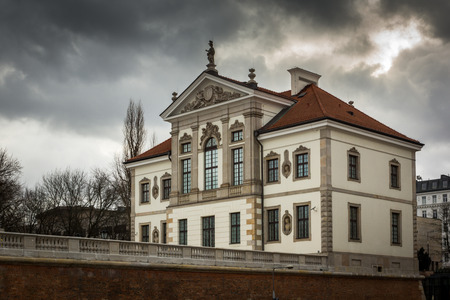 Baroque palace (Museum of Frederick Chopin) in Warsaw, Poland
