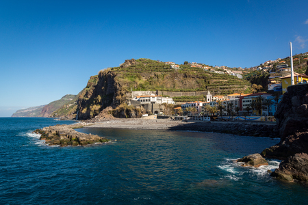 Ponta do Sol on Madeira island, Portugal Stock Photo