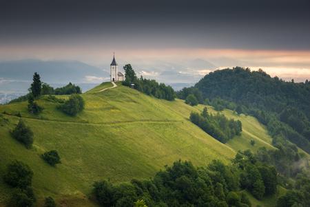 Church of St. Primus and Felician in Jamnik, Kranj, Slovenia