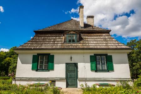 Manor house in Janowiec near Kazimierz Dolny, Lubelskie, Poland Editorial