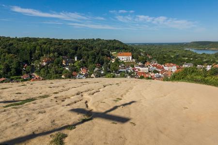 Three crosses hill in Kazimierz Dolny, Lubelskie, Poland Editorial