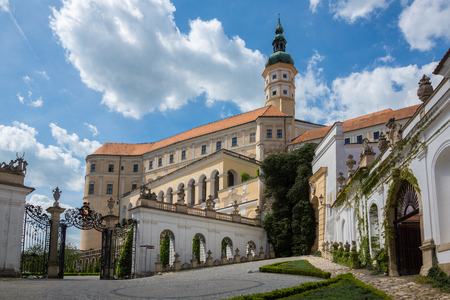 Castle in Mikulov, Moravia, Czech Republic