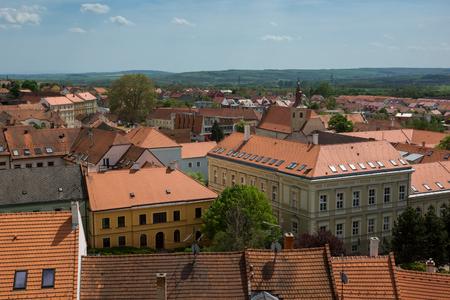 Old town in Mikulov, Moravia, Czech Republic