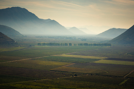 Popovo field in Dinaric mountains, Bosnia and Hercegovina