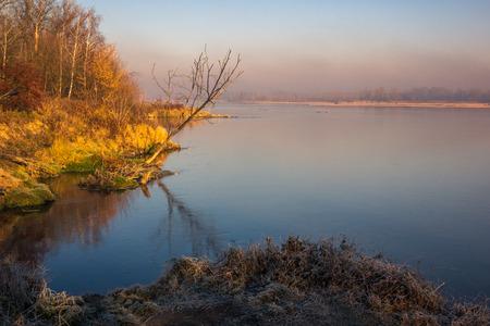 Vistula River near Konstancin-Jeziorna, Masovia, Poland
