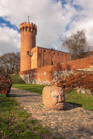 Teutonic castle from the 14th century in Swiecie, Kujawsko-Pomorskie, Poland