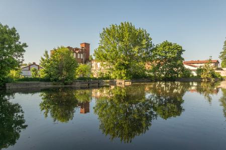 Park in Zyrardow, Masovia, Poland
