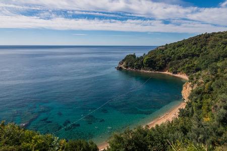 Adriatic coast near Budva, Montenegro