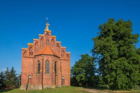 Church in Lubin near Wolinski National Park, Poland