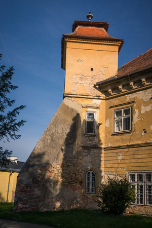 Castle in Zdanice, South Moravia, Czech Republic Editorial