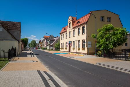 Town hall in Stepnica, Poland