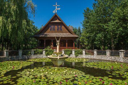Betlejemka near Basilica of Our Lady in Stary Lichen, Wielkopolskie, Poland Reklamní fotografie