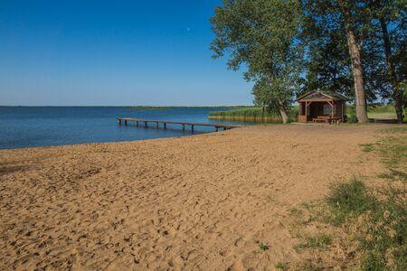 Beach in Wolin, Zachodniopomorskie, Poland