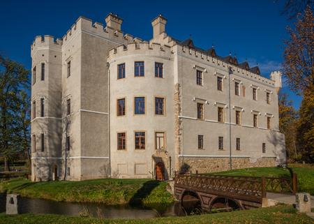 Castle from the 14th century in Karpniki, Poland