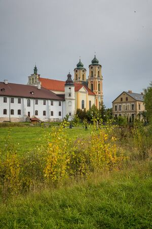 Basilica and Dominican monastery in Sejny, Podlaskie, Poland