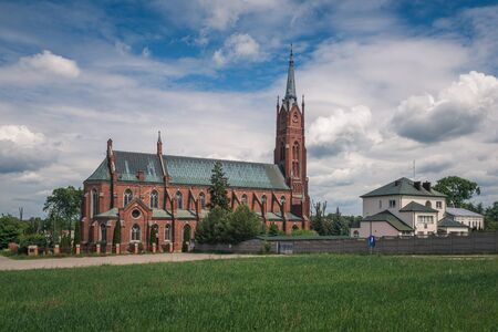 Church of Saint Florian in Sulejow, Lodzkie, Poland Archivio Fotografico