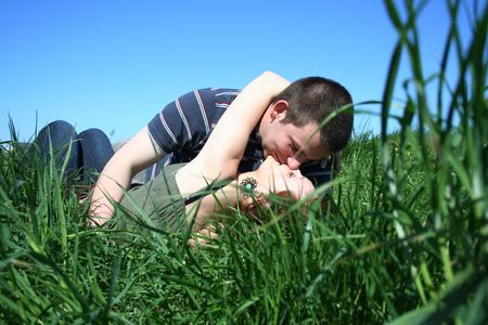 Loving couple photo