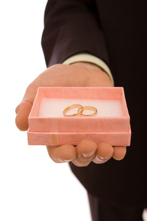 weddingrings: Rings on a white background