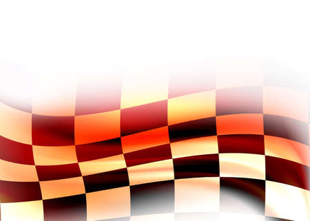 abstract racing flag photo