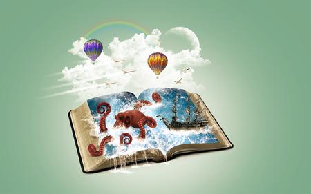El poder de la imaginación y la creatividad Foto de archivo - 41477607