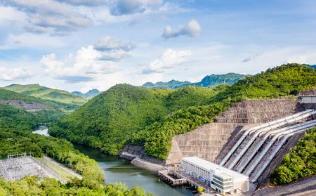 powerplant: Hydroelectric powerplant