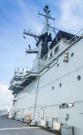 a battleship: Battleship of Thai Navy