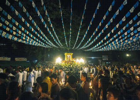 Solemn Foot procession in honor of Senyor Sto. Nino
