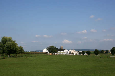 pa: Amish farm in Lancaster, PA