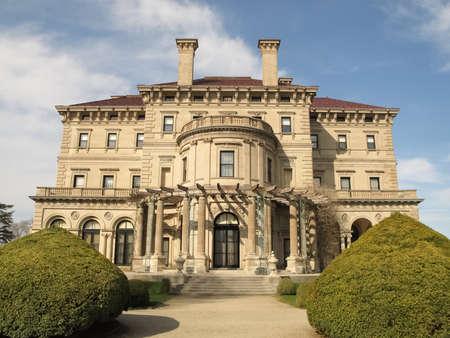 breakers: The Breakers mansion in Newport, Rhode Island Editorial