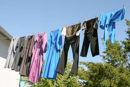 amish: Amish Laundry in Lancaster, PA