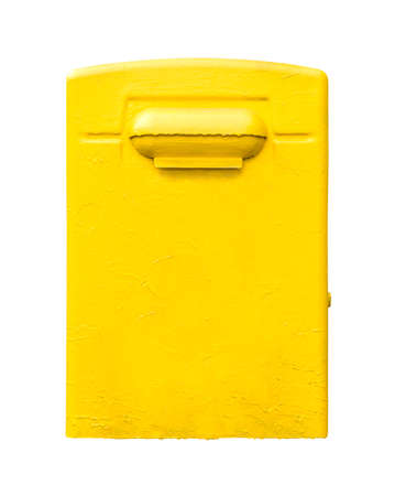 paint metal mailbox abstract yellow dirt metal stock photos pictures royalty free