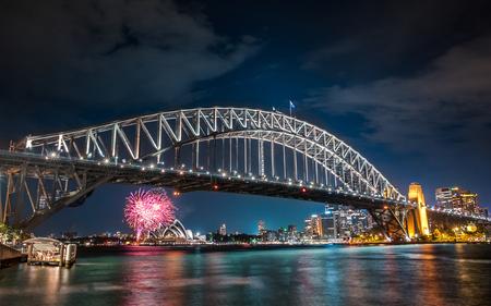 Habour Bridge Firework