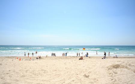 Gold Coast Beach Stock Photo