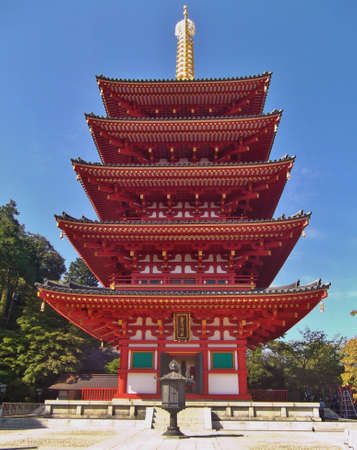 shinto: Shinto Temple Shrine in Tokyo Japan