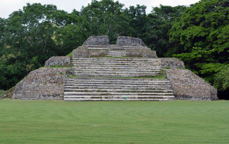 tourism in belize: Altun Ha Mayan Alter