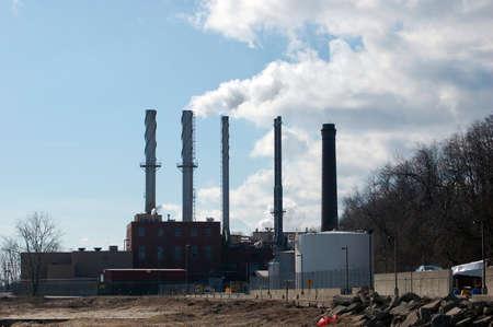 marquette: Coal Towers in Marquette Michigan