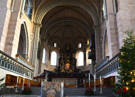 Prayer Alter inside Trier Cathedral in Germany