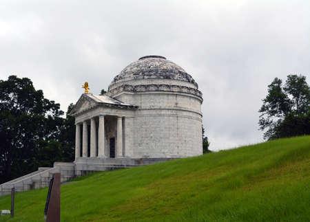 Illinois Memorial in the Vicksburg National Monument