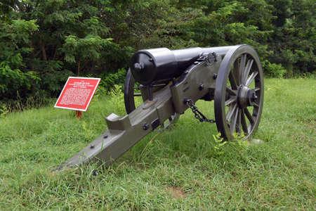 Alabama battery artillery cannon Reklamní fotografie