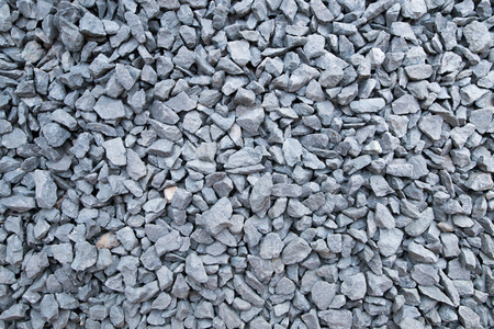 The texture of crushed stone. Gray crushed stone texture Reklamní fotografie