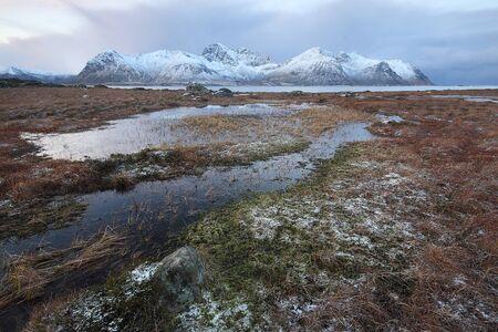 Beautiful Lofoten Ireland in Norway