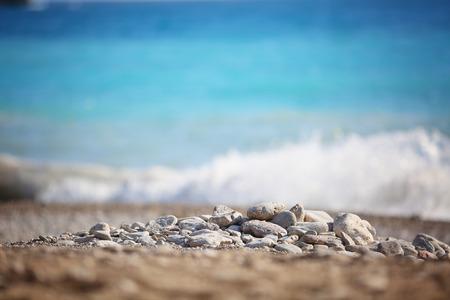 generic location: Nice stones on the beach.