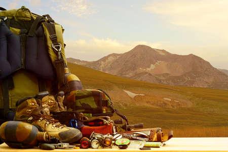 camping: Camping equipment