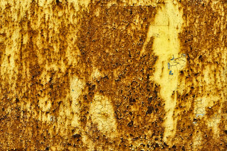 corrosion: Corrosion emerges on the surface Stock Photo