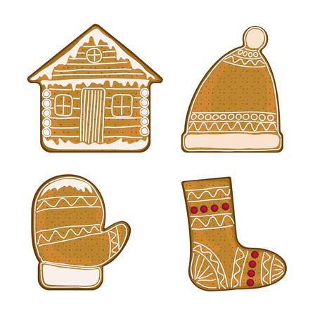 Christmas gingerbread, in the form of household items