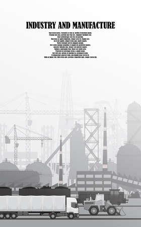 Urban landscape of industrial infrastructure