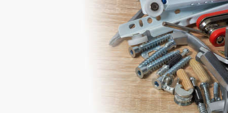 Fasteners for furniture assembly