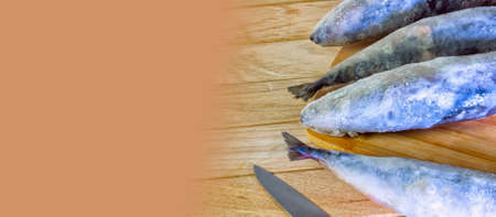 Fresh-frozen sea gourmet fish