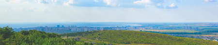 The seaside city of Anapa top view Stock Photo