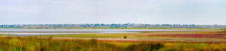 Panorama views of the Taman Peninsula